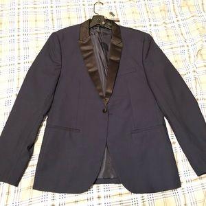 21 Men American Brand Navy / Black Career Jacket